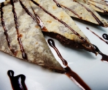 Tortilha com Nutella